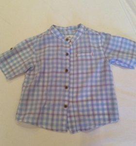 Рубашка на мальчика р. 86