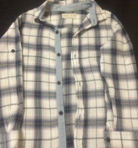 Рубашка Zara 116р ( на 6 лет)