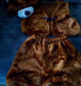 Новогодний костюм( медведь)