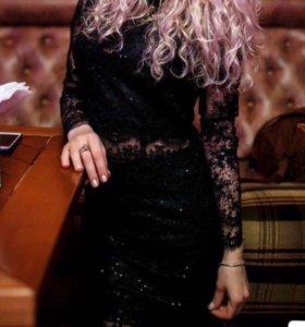 Платье (костюм) кружевное