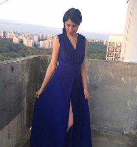 Синее платье, 44