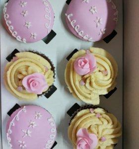 Домашние тортики и десерты на заказ