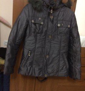 Курточка осенняя теплая