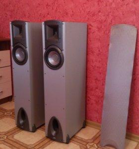 Продам или обменяю акустику klipshc f1