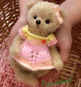 Мишка тедди- девочка, handmade