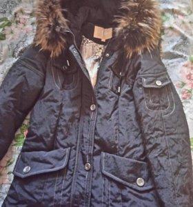 Натуральная новая куртка