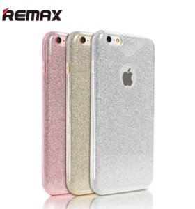 Чехол REMAX © Glitter iPhone 6/6s (силикон)