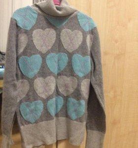 Тёплый свитер (новый!)