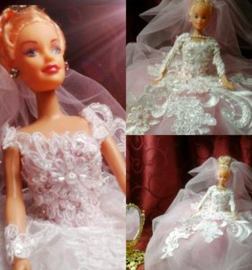 Подарочная кукла ручной работы