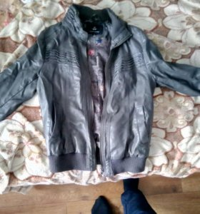 Кожазам куртка на осень и весну