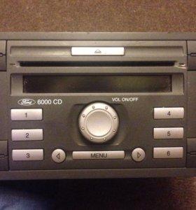 CD магнитола на Ford Focus 2
