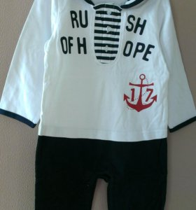 Слип костюм морячка (боди)