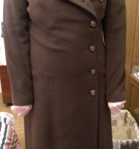Пальто кашемировое демисизонное