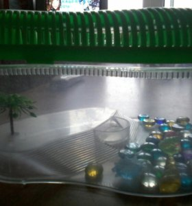 Террариум для водной черепахи