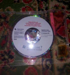 Установочный диск винда