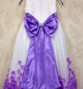 Платье нарядное бальное + кринолин
