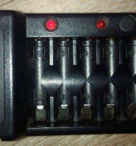 Зарядное устройство hama на 8 AA AAA аккумуляторов