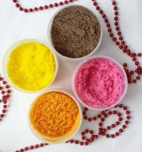 Сахарные скрабы ручной работы