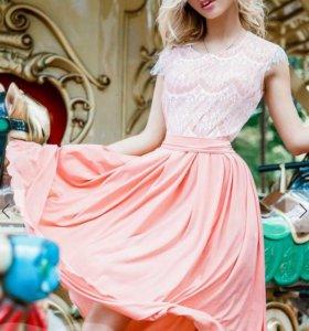 Нежное летнее платье 🌸