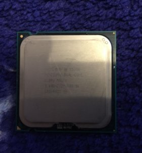 Процессор Intel 2 ядерный