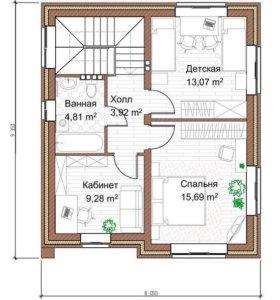 КИРПИЧНЫЙ СТАНДАРТ 105 м²