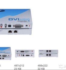 Комплект устройств для передачи сигналов DVI-D циф