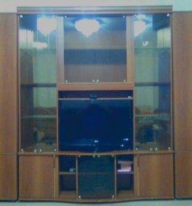 Шкаф-стенка (ш:350, гл:87, в:210). Торг.