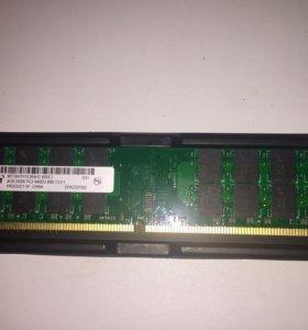 4Gb DDR2 для ПК