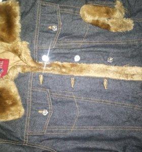 Куртка джинс Италия