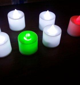 Набор 6шт Светодиодные свечи