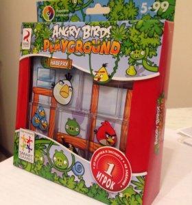 Логическая игра Angry Birds