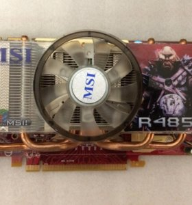 Видеокарта MSi 4850