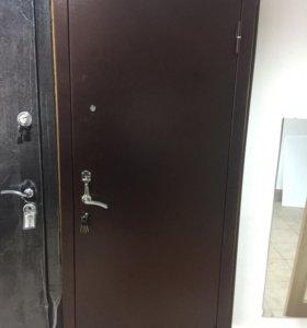 """Дверь входная """"Патриот Зеркало"""" R 86"""