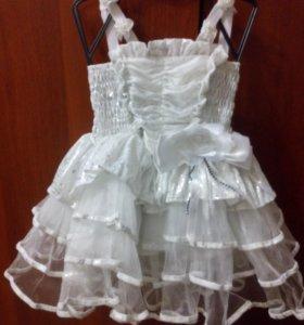 Празднечное платье для принцесс