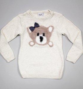Новый свитер для девочки 92, 98, 104, 110, 116