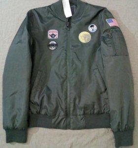 "Новая куртка бомбер ""Military Pilot""-L"""