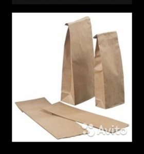 Пакеты бумажные Крафт