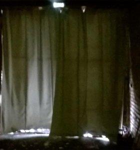 Брезентовые утепление шторы