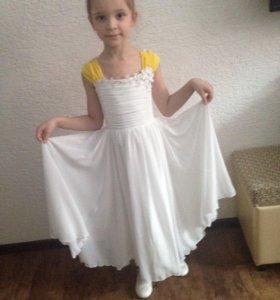 Детское новое нарядное платье