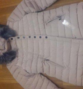 Новая куртка р.54 зимняя.
