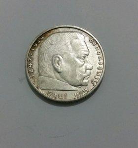 5 марок 3-го рейха