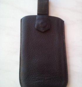 Чехол кожа натуральная для любых сотовых телефонов