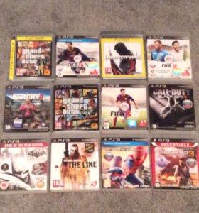 PlayStation 3. С дисками