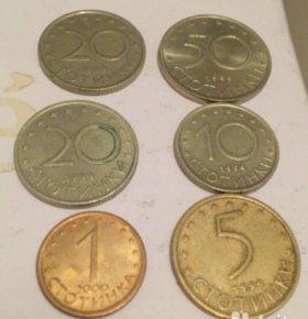 Монеты Болгарии
