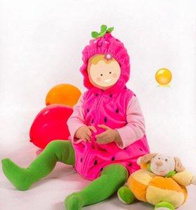 Маскарадный новогодний костюм клубнички
