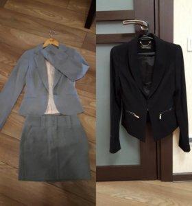 Пиджаки и куртка кофта