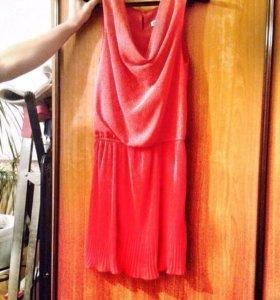 Платье красное , отличный вариант на новый год