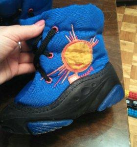 Ботинки теплые зимние 28 размер