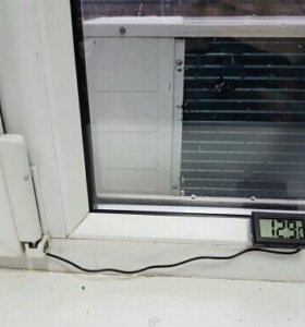 Термометр с зондом новый