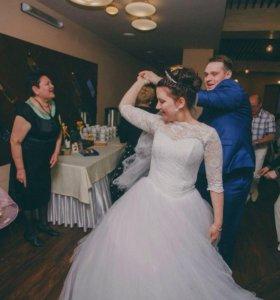 Платье свадебное красивое!